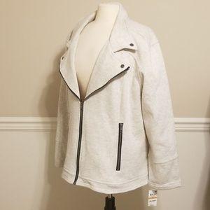 Style & Co. Iconic motorcycle jacket. Plus sizes